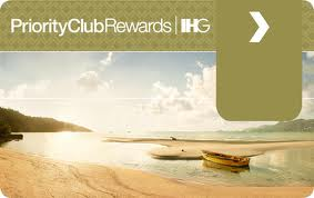 Priority Club Gold card