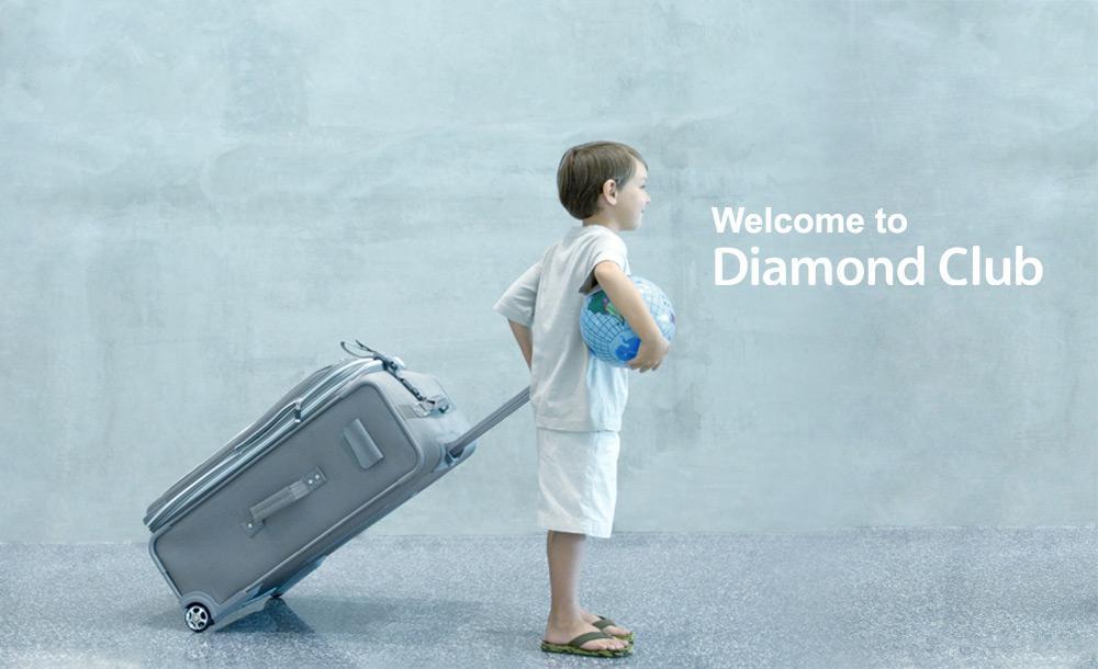 Diamond Club home page