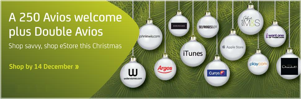 estore Christmas promotion