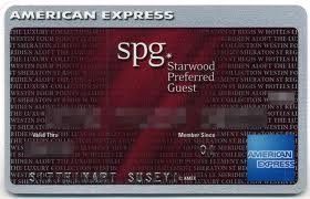 Credit & Charge Card Reviews (12): Starwood Preferred Guest