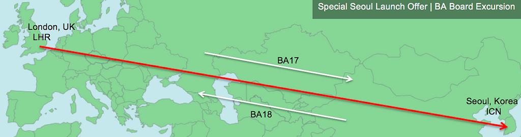 Seoul route