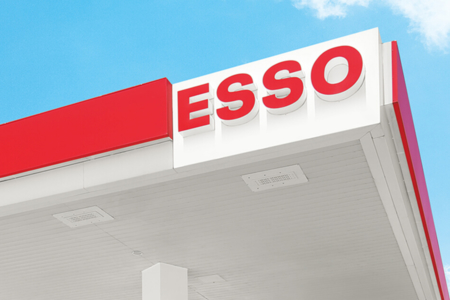 Esso petrol station Clubcard points
