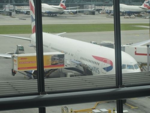 Plane to Manchester
