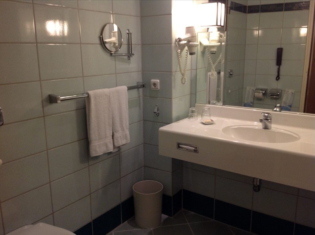 Sheraton Frankfurt Airport bathroom review
