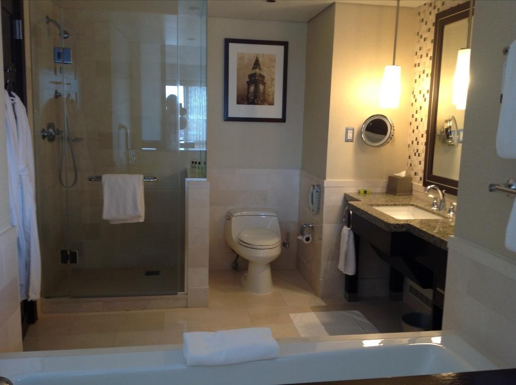 InterContinental Boston review junior suite