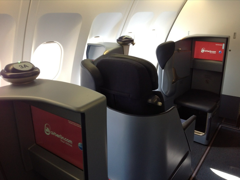 airberlin fully flat seat business class review
