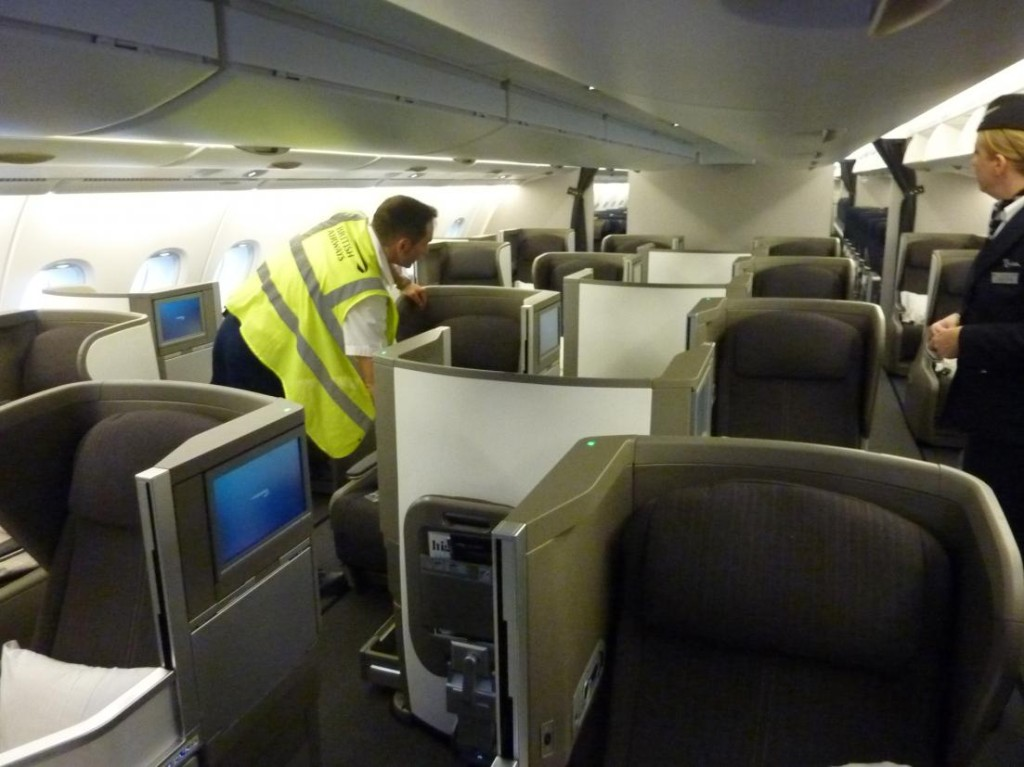 Interior Photos Of British Airways New A380
