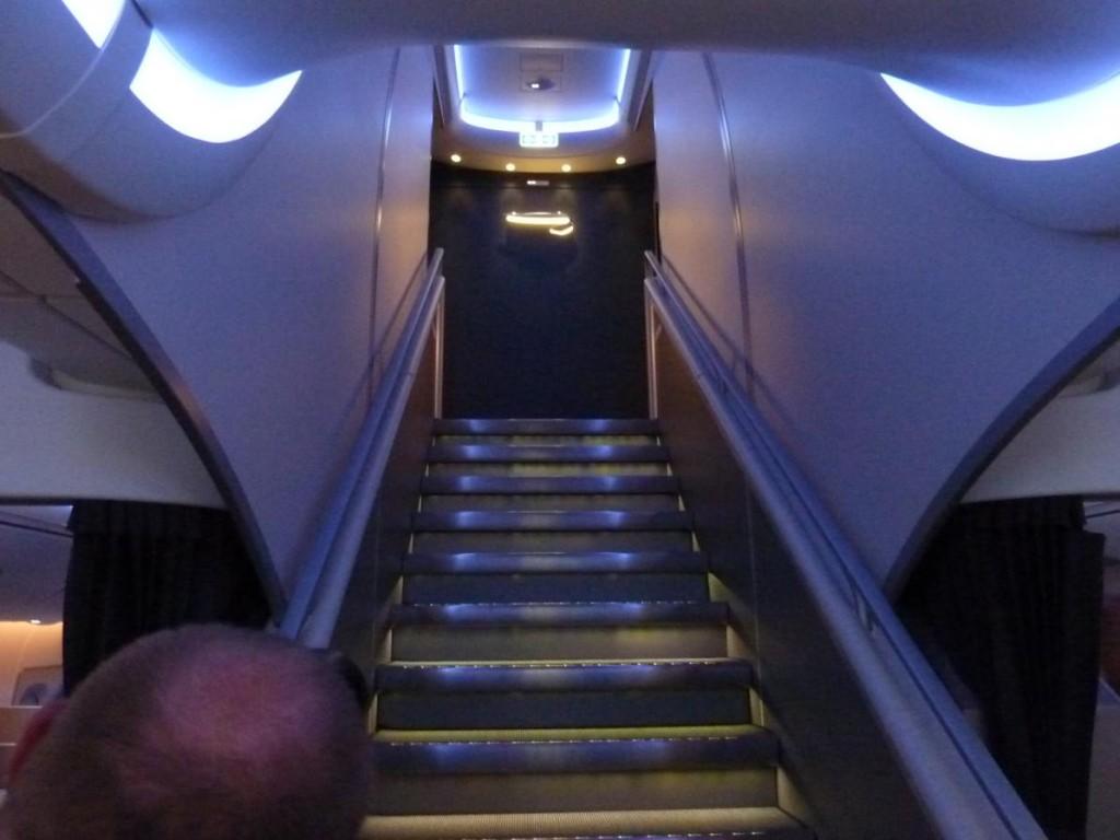 A380 staircase