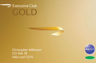 Can I get into a British Airways lounge with a Gold card?