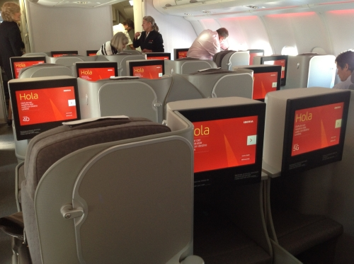 Iberia A330 business class seat review