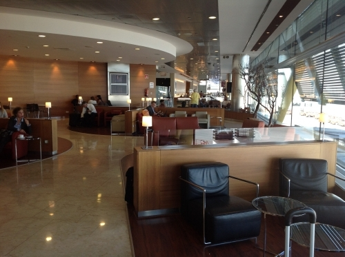 Iberia Velazquez lounge Madrid review