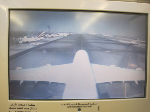 A380 TV picture