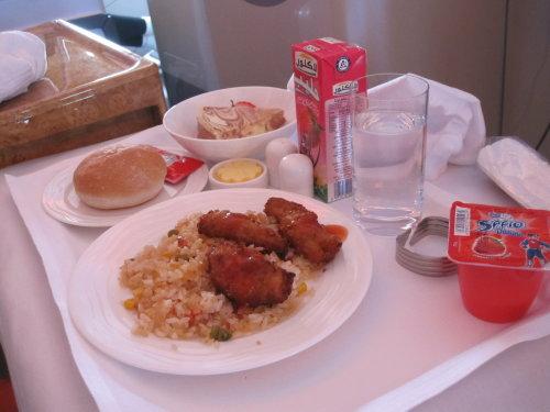 A380 kids meal