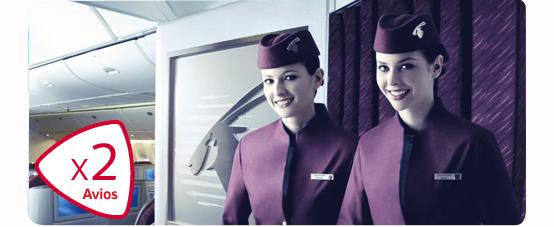 Qatar double Avios