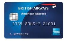 BA Amex credit card