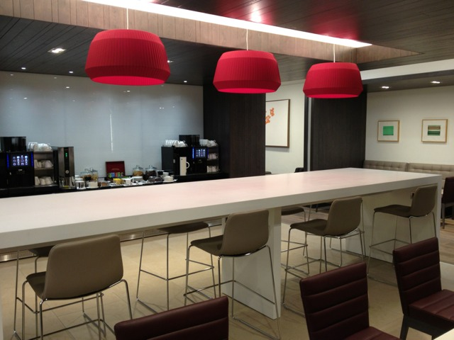 BA Edinburgh lounge 3 review