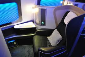 British Airways new First Class seat