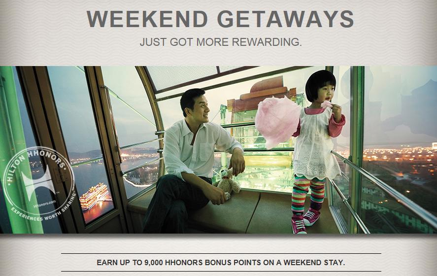 Hilton Weekend Rewards