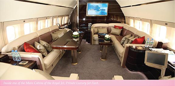 Sandy Lane private jet