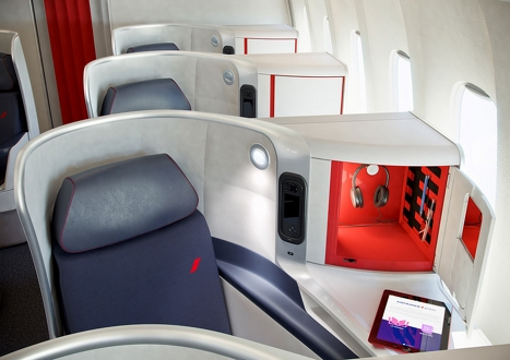 Air France new business class 3