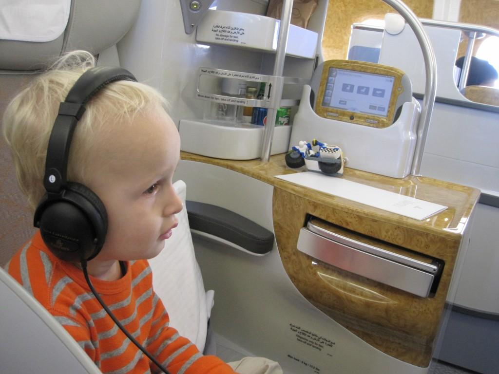 Emirates business child