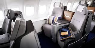 Lufthansa new business class seat