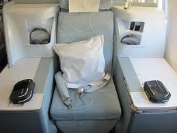 New Finnair business class seat