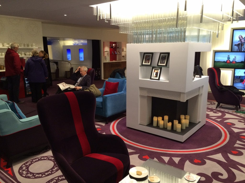 Virgin Money lounge London
