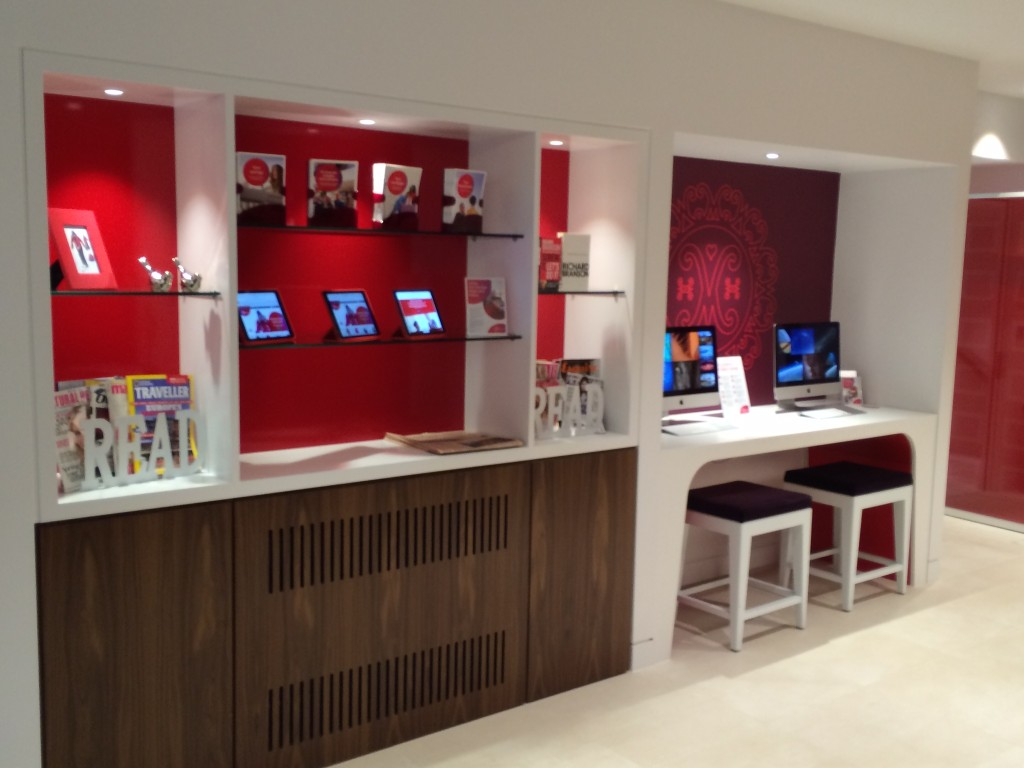 Virgin Money lounge London 2