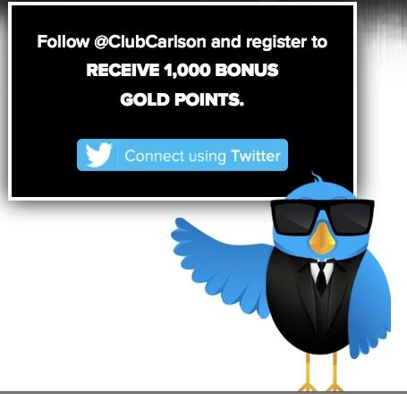 Club Carlson Twitter