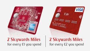 Emirates Elite cards