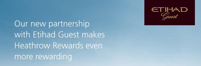 Etihad Guest Heathrow Rewards
