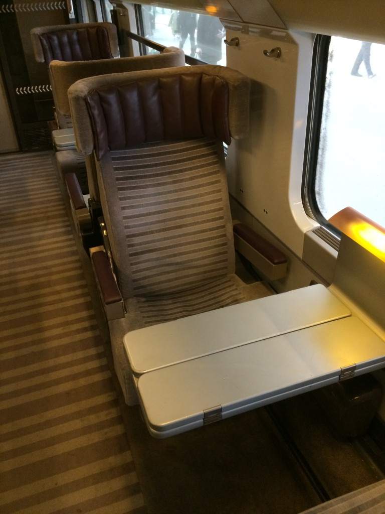 Eurostar Standard Premier Business Premier seat review
