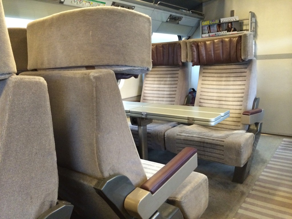 Eurostar Standard Premier Business Premier seat 2 review