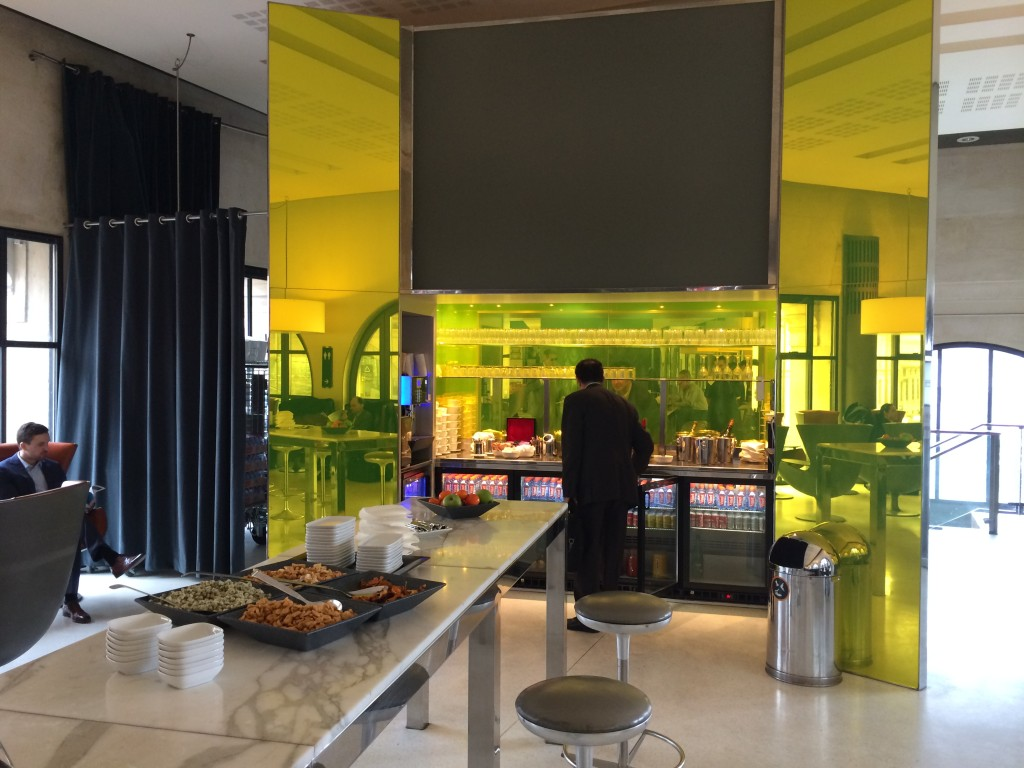 Eurostar Gare du Nord Paris lounge 2 review