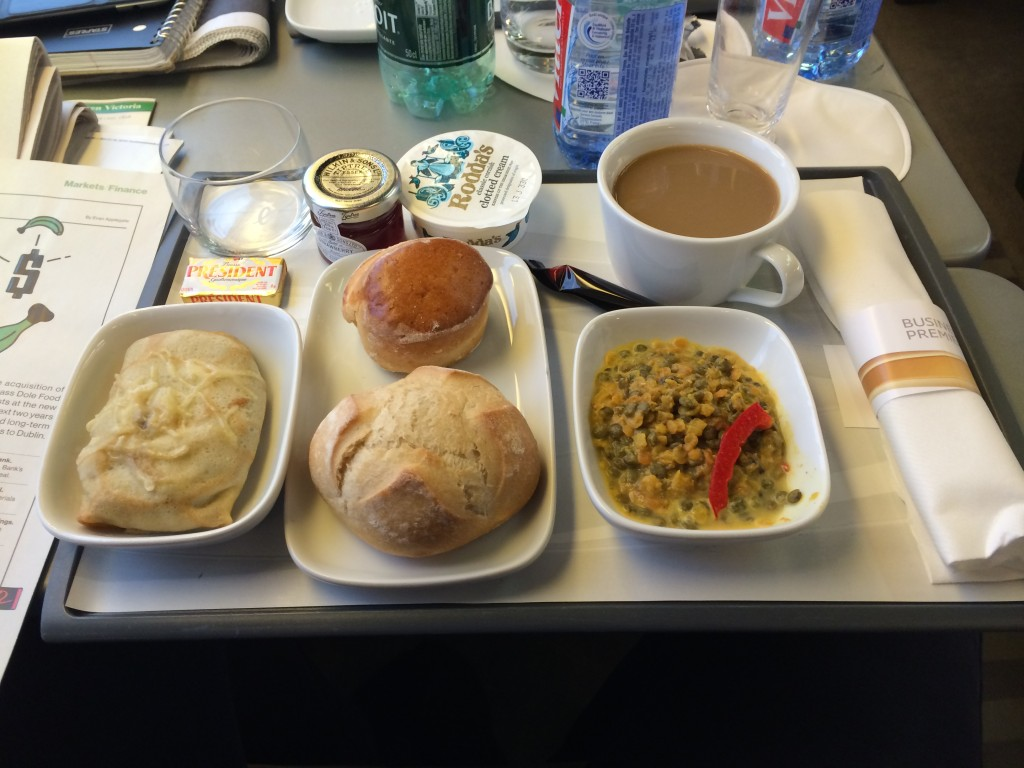 Oh dear the dire state of eurostar food in 2014 for Premier cuisine