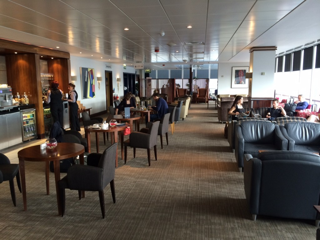 British Airways First lounge Gatwick
