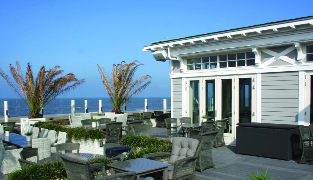 Beach restaurant Grand Hotel Huis ter Duin review