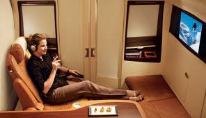 Singapore First Class suite