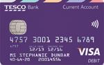 Tesco current account debit card