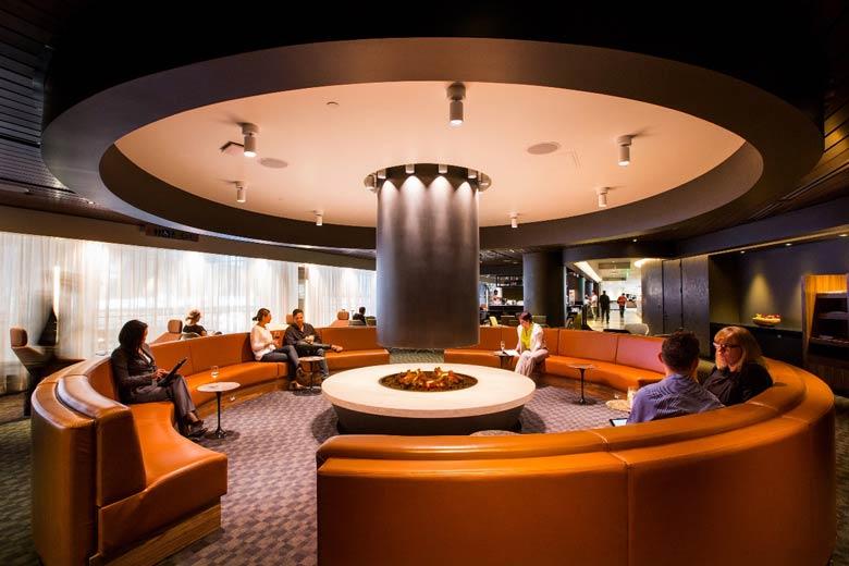 oneworld Los Angeles lounge 2
