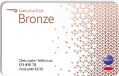 BA Bronze card