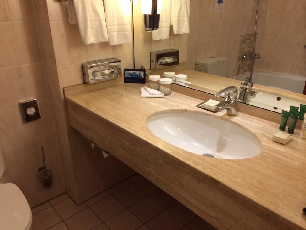 Hilton Munich City Centre bathroom review