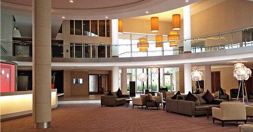 Hilton St Georges Park lobby review
