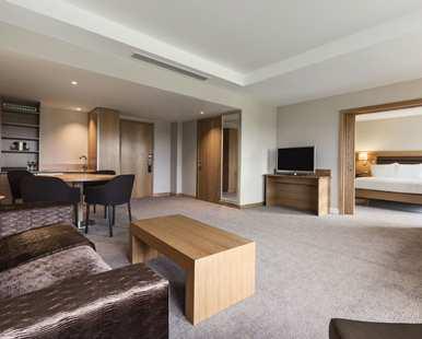 Hilton St Georges Park suite review