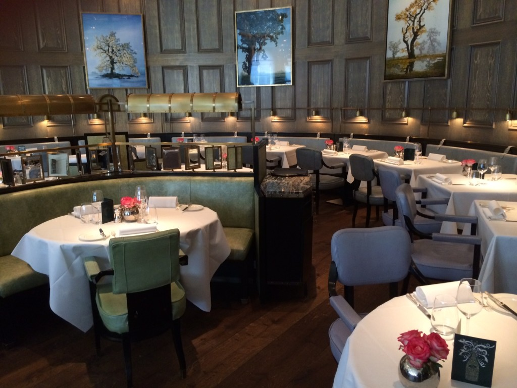 Langham London Roux Landau restaurant review