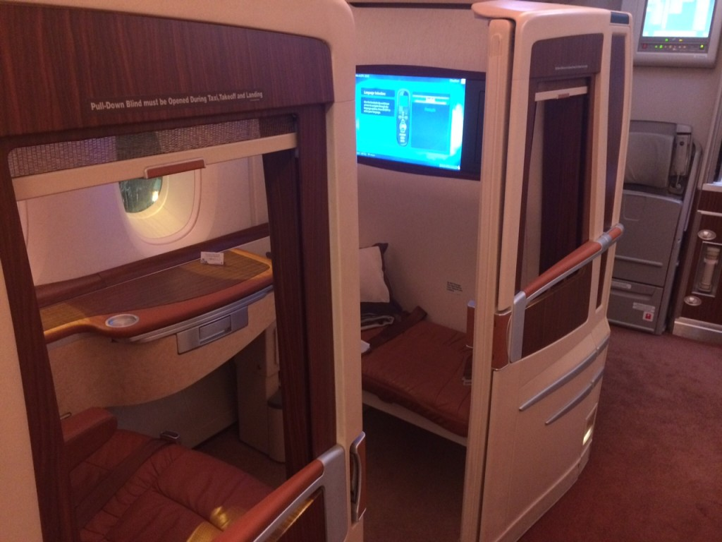 Singapore A380 First Class suite individual review