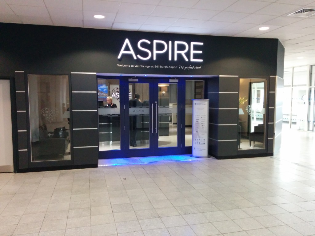 Aspire lounge Edinburgh 1 review