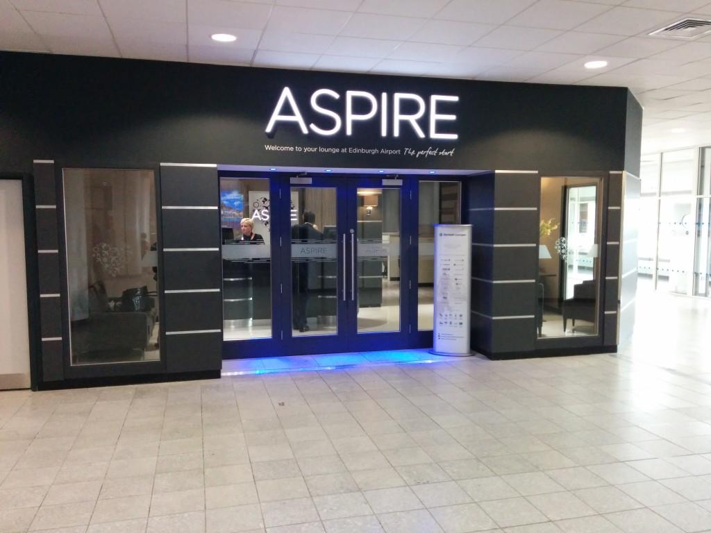 Aspire lounge Edinburgh 1 review