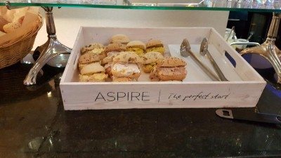 Aspire lounge Edinburgh review